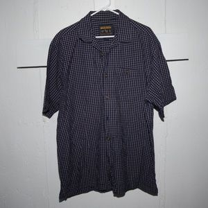 Woolrich mens short sleeve shirt size XL J108